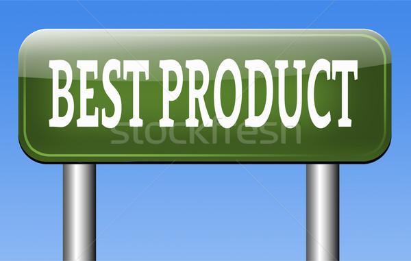 O melhor produto prêmio topo controle de qualidade garantido Foto stock © kikkerdirk