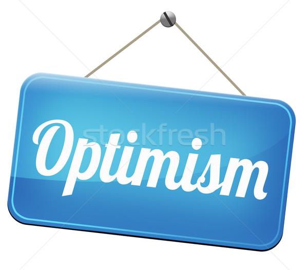 optimist Stock photo © kikkerdirk