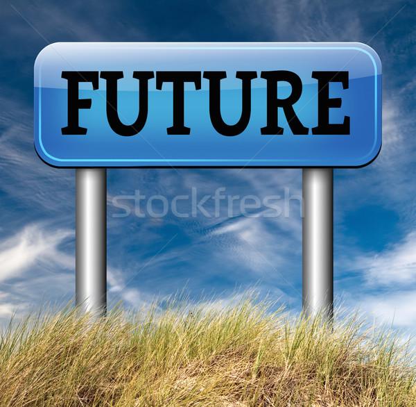 bright future Stock photo © kikkerdirk