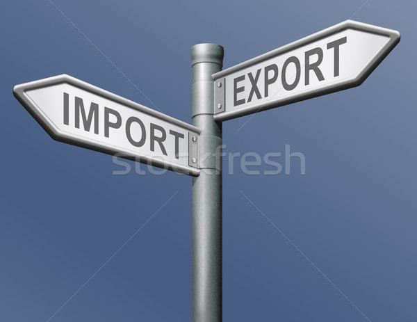 import export freight transportation Stock photo © kikkerdirk