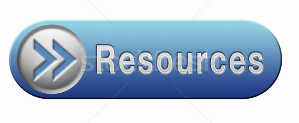 resources button Stock photo © kikkerdirk