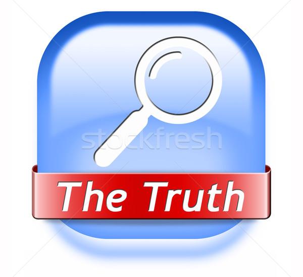 Vinden waarheid eerlijk eerlijkheid lang manier Stockfoto © kikkerdirk