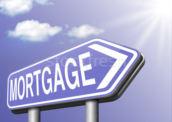 mortgage Stock photo © kikkerdirk