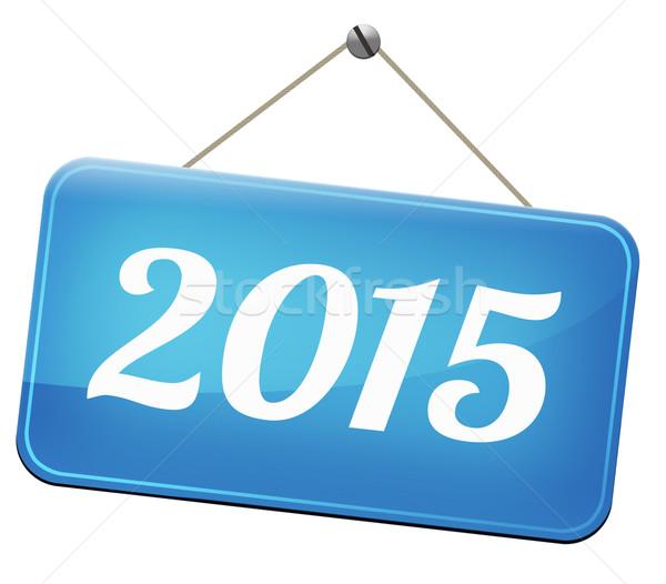 2015 new year Stock photo © kikkerdirk