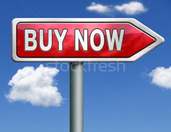 Vásárol út felirat online eladó internet Stock fotó © kikkerdirk