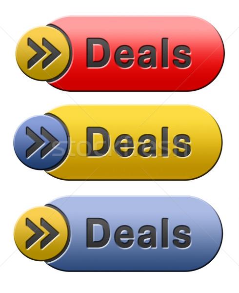 deals icon Stock photo © kikkerdirk