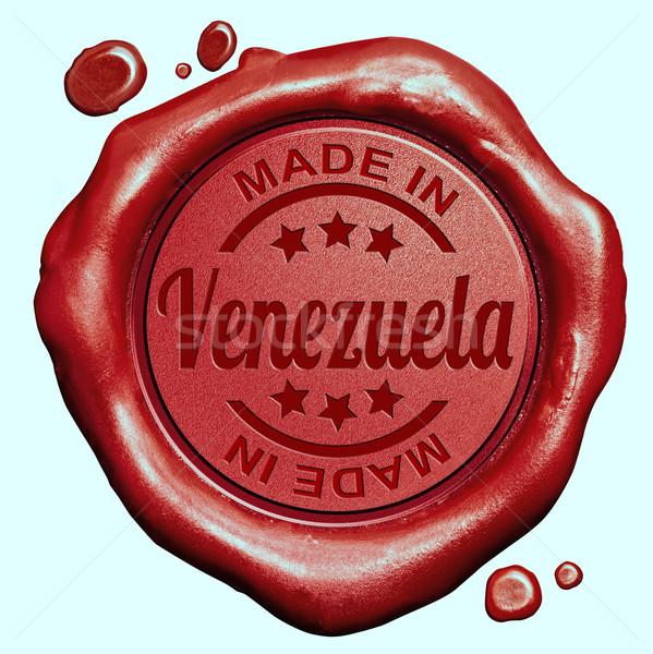 Made in Venezuela Stock photo © kikkerdirk