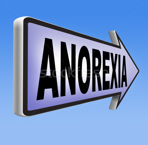 анорексия еды веса предотвращение лечение Сток-фото © kikkerdirk