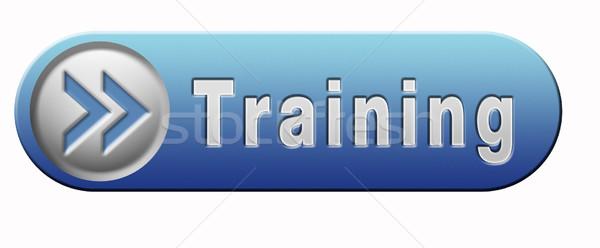 Képzés tanul tudás bölcsesség fitnessz sport Stock fotó © kikkerdirk