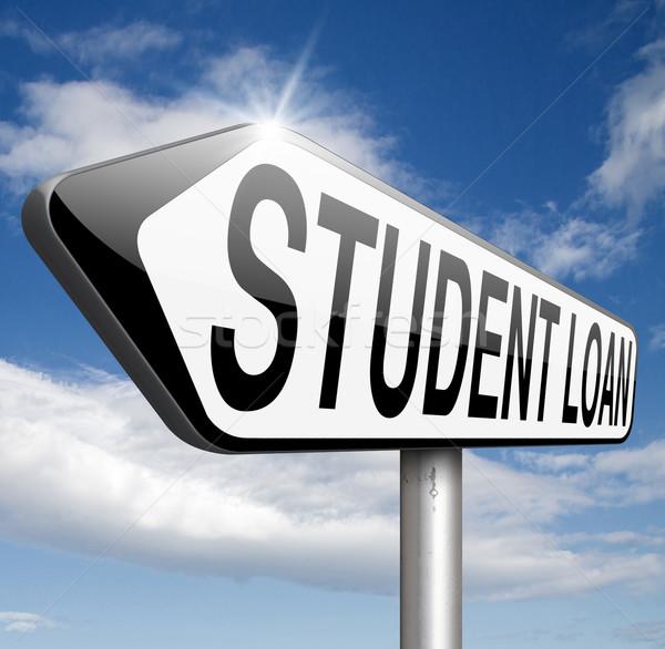 étudiant prêt Université collège éducation Photo stock © kikkerdirk