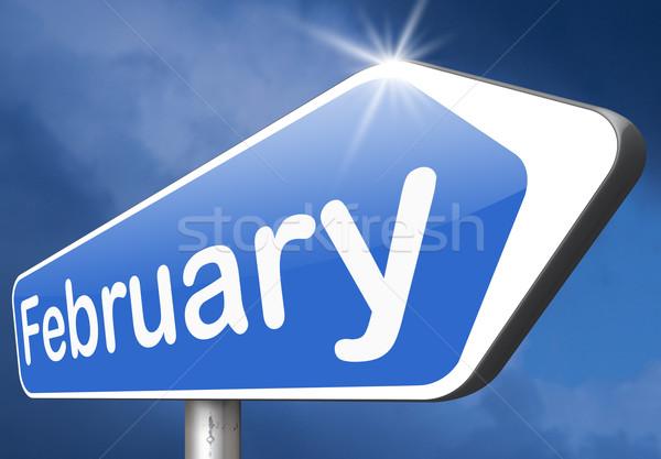 February Stock photo © kikkerdirk