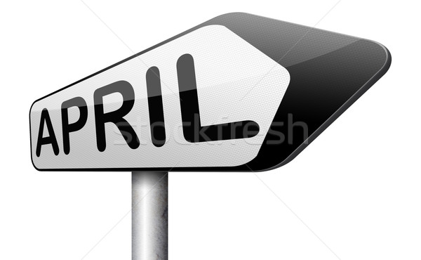 next april Stock photo © kikkerdirk