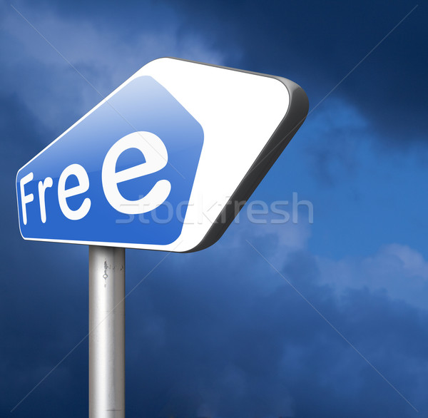 free of charge Stock photo © kikkerdirk