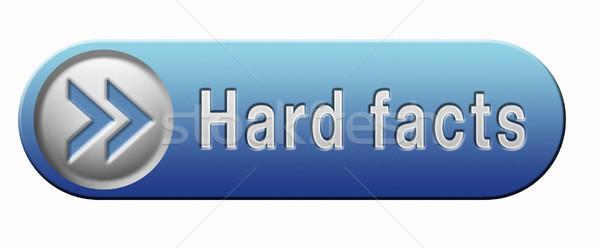 hard facts Stock photo © kikkerdirk