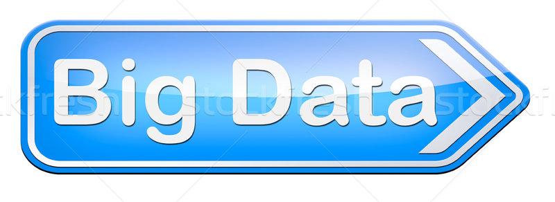 big data Stock photo © kikkerdirk