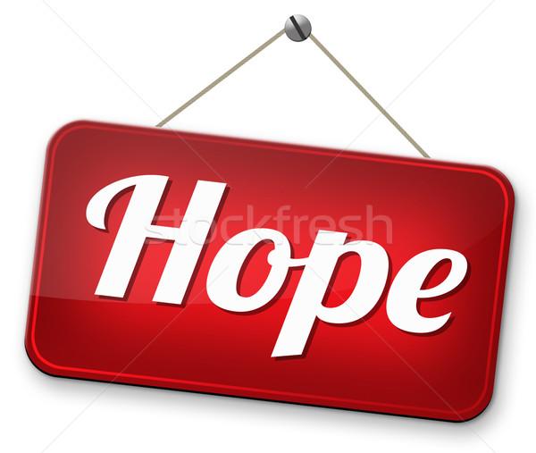 希望 にログイン と思います ポジティブ 明るい 将来 ストックフォト © kikkerdirk