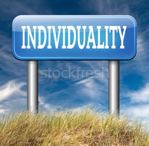 individuality Stock photo © kikkerdirk