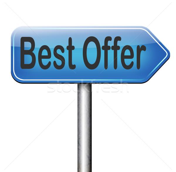 best offer sale Stock photo © kikkerdirk