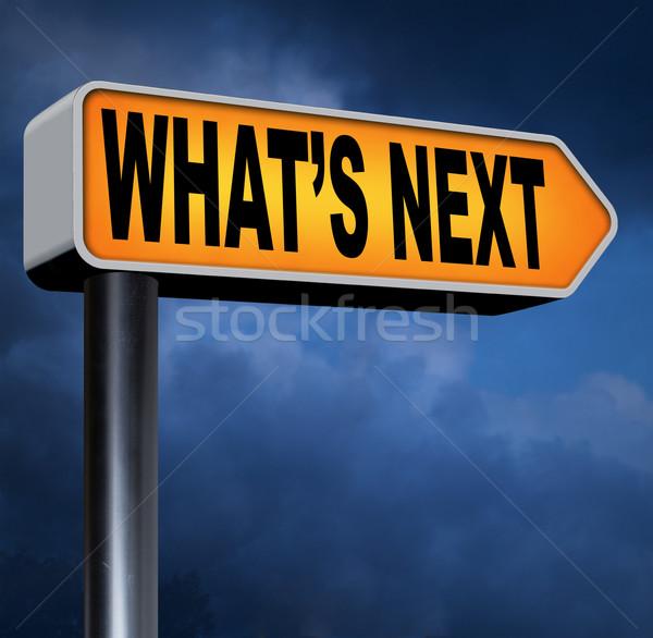 what's next Stock photo © kikkerdirk