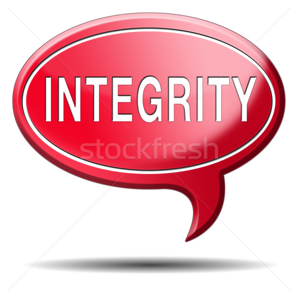 integrity Stock photo © kikkerdirk
