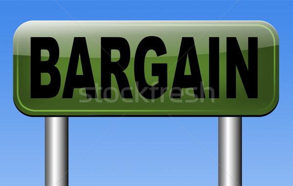 Alkalmi vétel akció legjobb ár készít nagyszerű üzlet Stock fotó © kikkerdirk