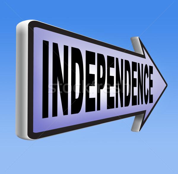 независимый жизни свободный жизни жить собственный Сток-фото © kikkerdirk