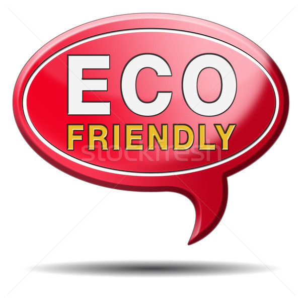 eco friendly or bio sign Stock photo © kikkerdirk