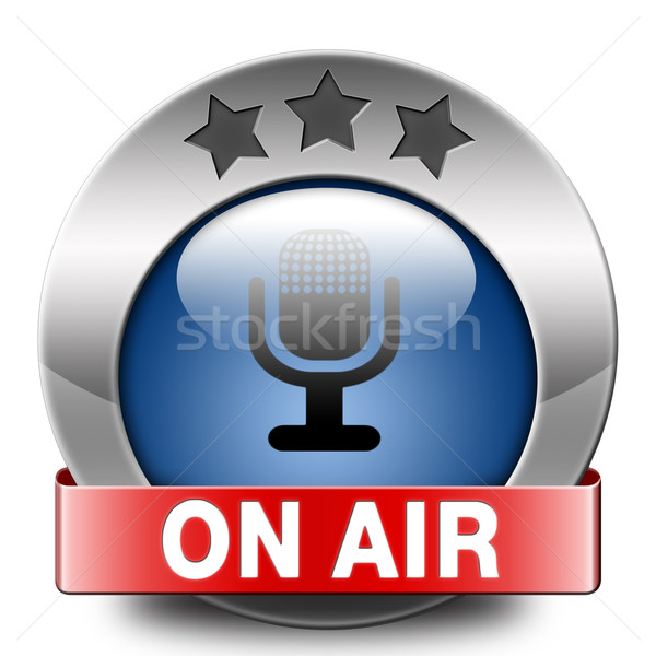 Stock photo: on air
