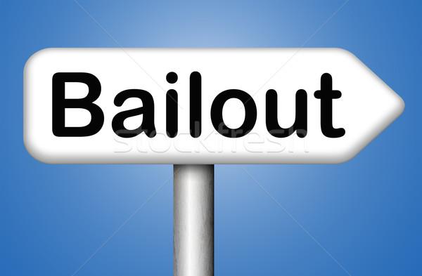 bailout Stock photo © kikkerdirk