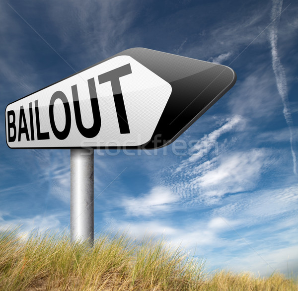 Faillite économique crise financière récession affaires Photo stock © kikkerdirk