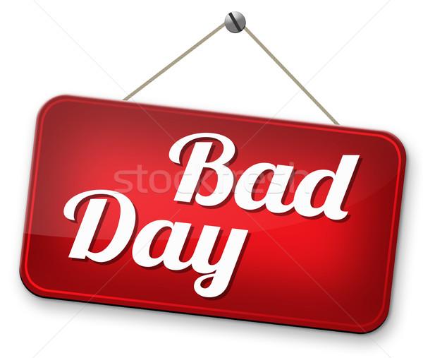 bad day Stock photo © kikkerdirk