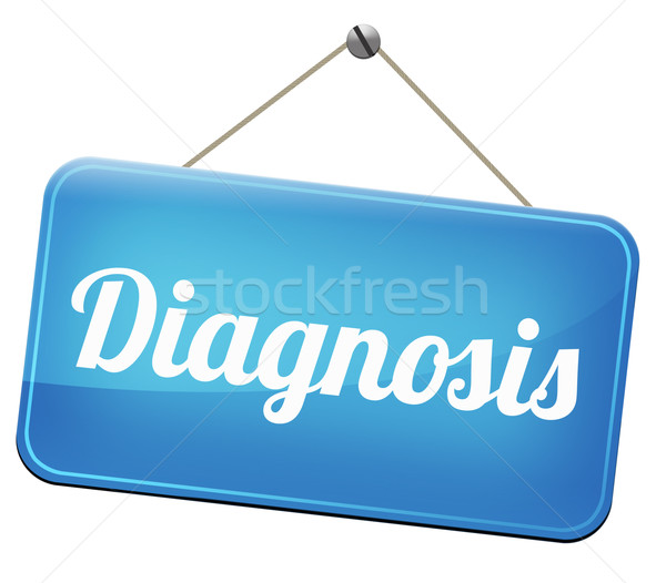 диагностика медицинской диагностический мнение врач просить Сток-фото © kikkerdirk