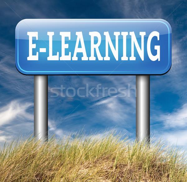 e-learning Stock photo © kikkerdirk