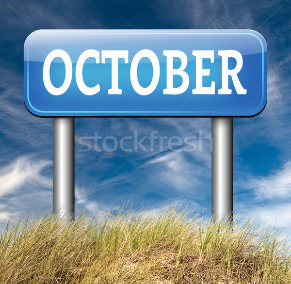 October Stock photo © kikkerdirk
