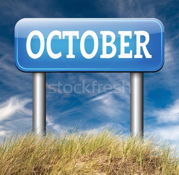 October Stock photo © kikkerdirk