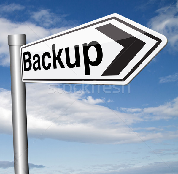 backup Stock photo © kikkerdirk