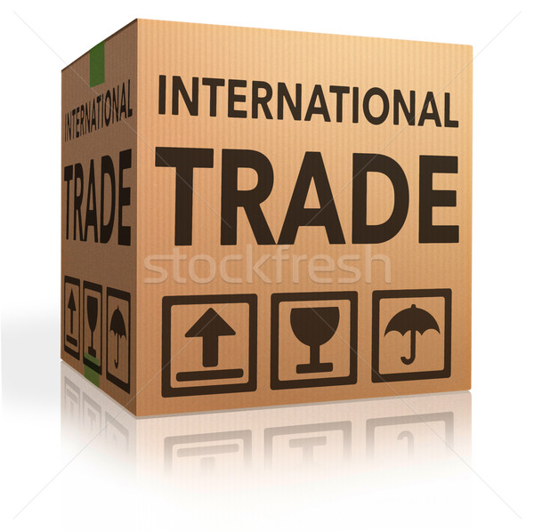 international trade Stock photo © kikkerdirk