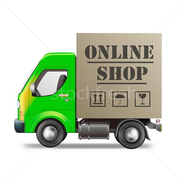 online shop Stock photo © kikkerdirk