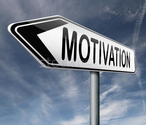 Motivação atitude motivar trabalho carta falar Foto stock © kikkerdirk