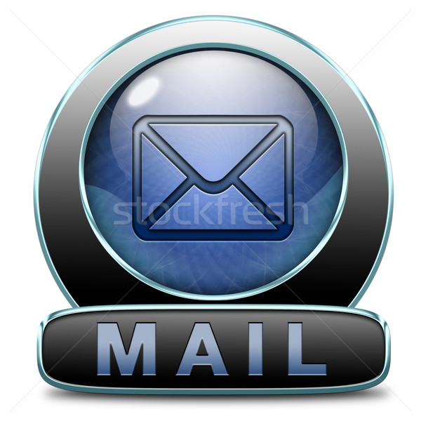 mail icon Stock photo © kikkerdirk