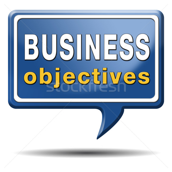 business objectives Stock photo © kikkerdirk