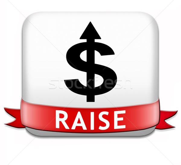 raise income Stock photo © kikkerdirk