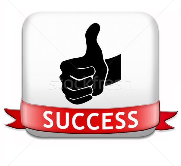 success Stock photo © kikkerdirk