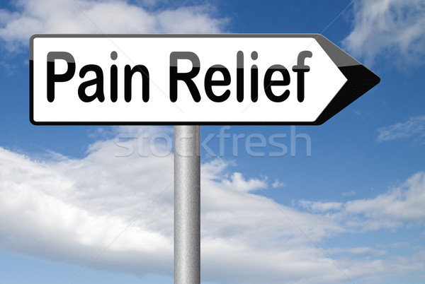 pain relief Stock photo © kikkerdirk