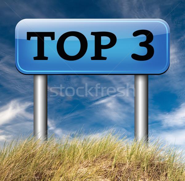 top 3 charts Stock photo © kikkerdirk