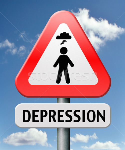 depression Stock photo © kikkerdirk