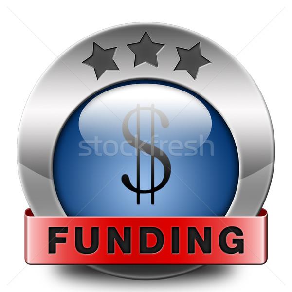 Icon liefdadigheid geld schenking winst Stockfoto © kikkerdirk