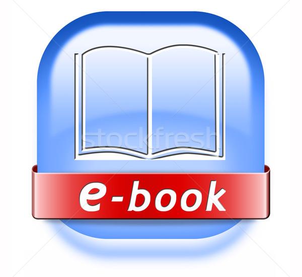 ebook button Stock photo © kikkerdirk