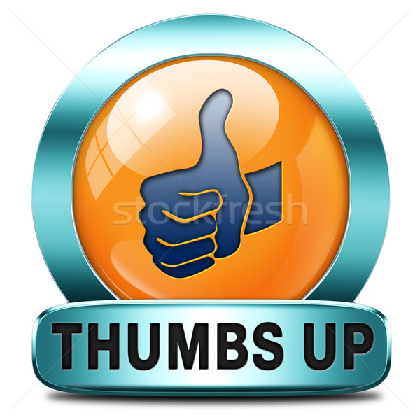 thumbs up Stock photo © kikkerdirk