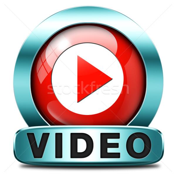 play video Stock photo © kikkerdirk